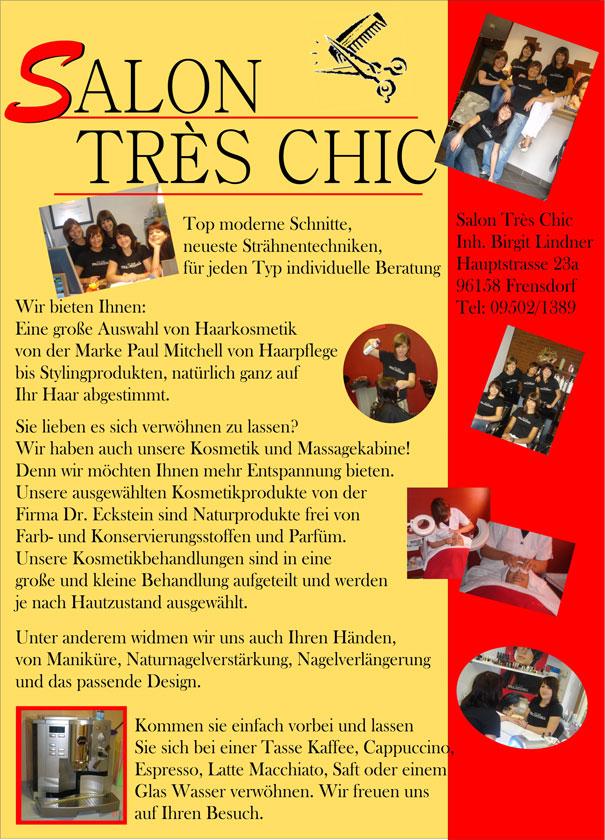 Salon Tres Chic Frensdorf: Top moderne Schnitte - anpfiff.info