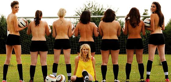 Fußball- Und Analverrücktes Girl