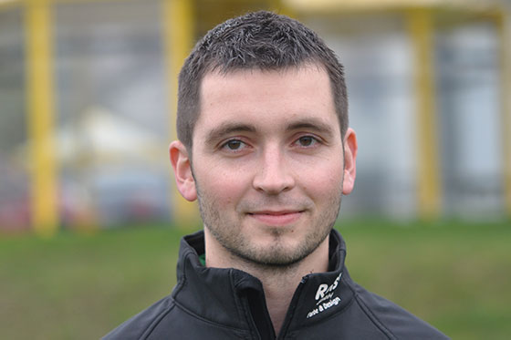 Mit acht Treffern bislang bester Torschütze bei den 05ern: Georg Weber