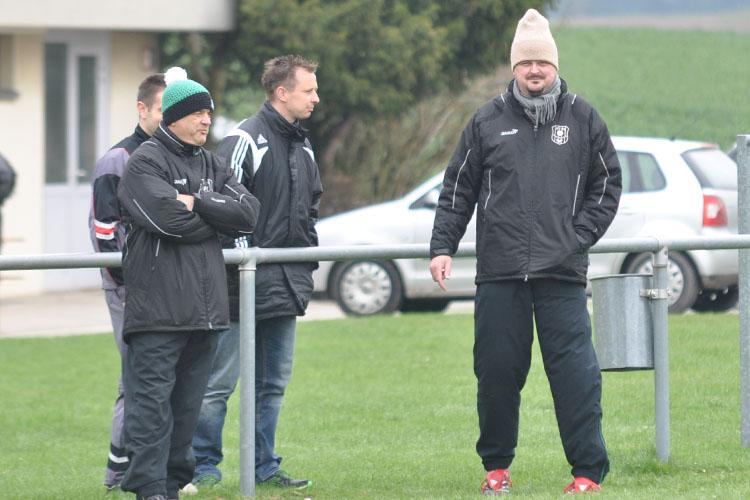 Michael Findeiß wünscht sich immer einen vollzähligen Gegner. So auch gegen den VfB, die zuletzt nur mit zehn Mann antraten.
